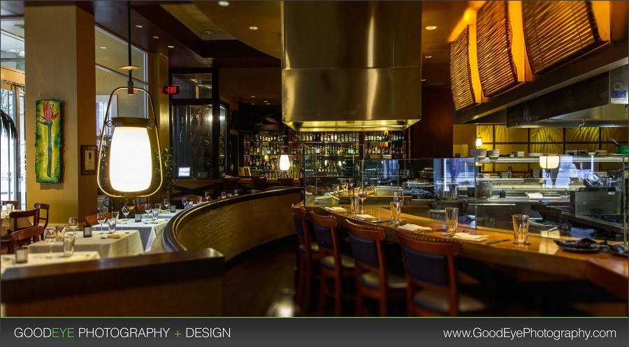 Roy s hawaiian fusion restaurant interior photography