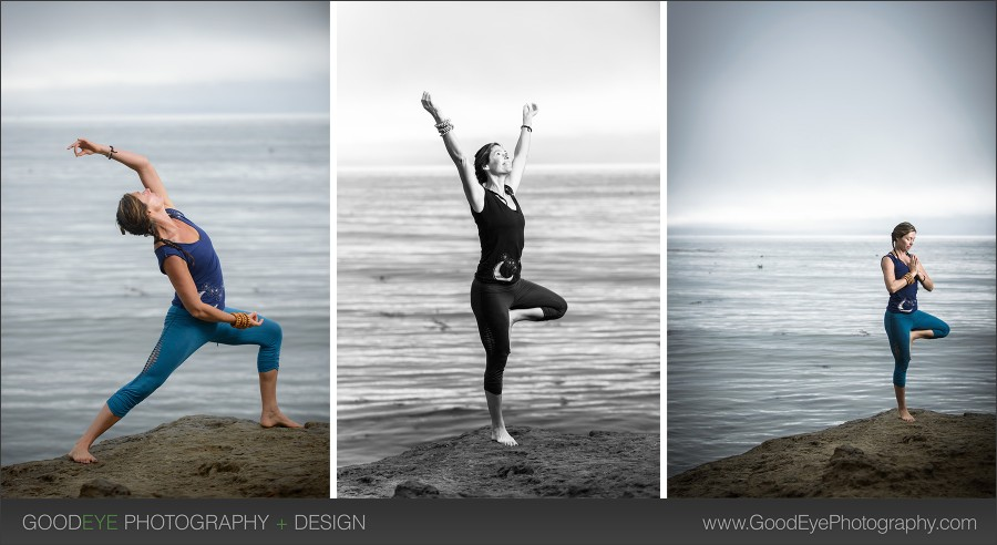 Fitness / Yoga Photos - Privates Beach, Capitola - Photos by Bay Area portrait photographer Chris Schmauch www.GoodEyePhotography.com